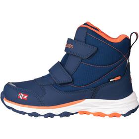 TROLLKIDS Hafjell Winter Boots Kids, azul/naranja